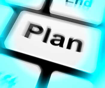 Plan makes the difference between a goal and a wish Image