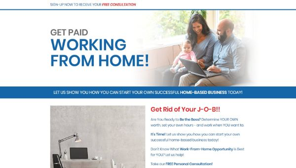 Get Paid Working From Home 2